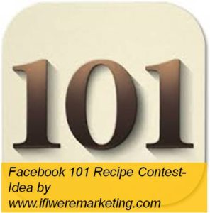 Facebook contest for Hershey's chocolate or strawberry syrups- 101 recipes or food makeovers-www.ifiweremarketing.com