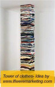 amazon fashion- tower of clothes-www.ifiweremarketing.com