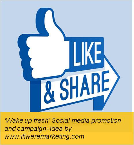 colgate gel toothpaste-wake up fresh social media and promotion campaign-www.ifiweremarketing.com