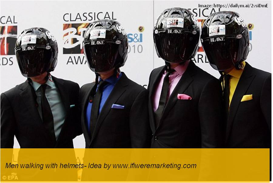 honda motorcycle marketing-men walking with helmets-www.ifiweremarketing.com