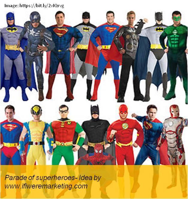 honda motorcycle marketing-parade of superheroes-www.ifiweremarketing.com