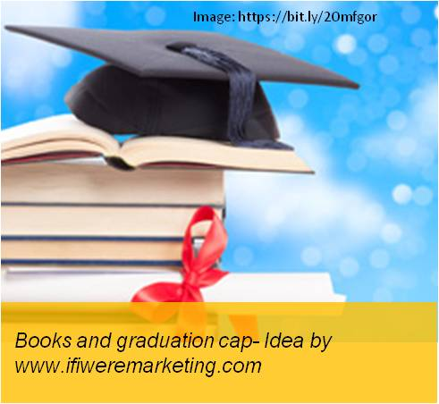vodafone telecom marketing-books and graduation cap-www.ifiweremarketing.com