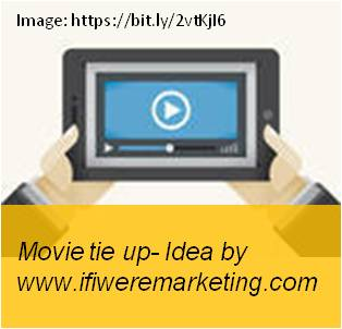 vodafone telecom marketing-movie tieup-www.ifiweremarketing.com