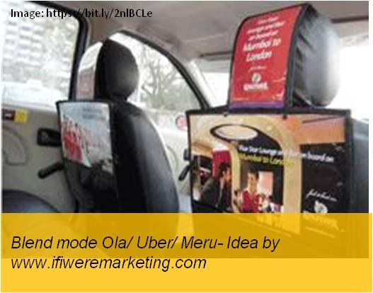 blackberry mobiles marketing-blend mode meru or uber or ola tie up-www.ifiweremarketing.com
