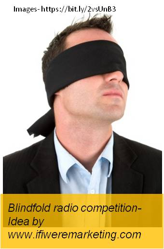 blackberry mobiles marketing-blindfold radio competition-www.ifiweremarketing.com