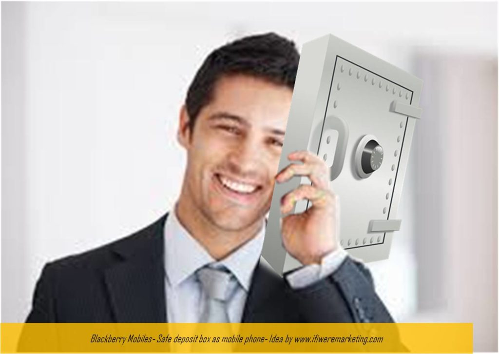 blackberry mobiles marketing-safe deposit box as mobile phone-www.ifiweremarketing.com
