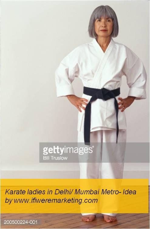 women horlicks marketing-Karate ladies in Delhi and Mumbai Metro Ladies Coach- www.ifiweremarketing.com