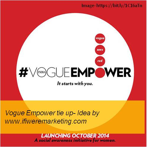 women horlicks marketing-Tie-up with Vogue Empower- www.ifiweremarketing.com