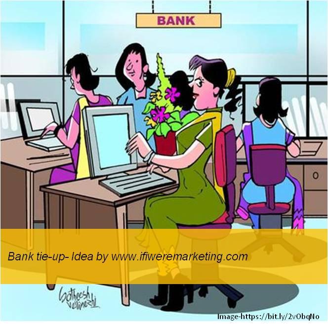 women horlicks marketing-Tie-up with banks-www.ifiweremarketing.com