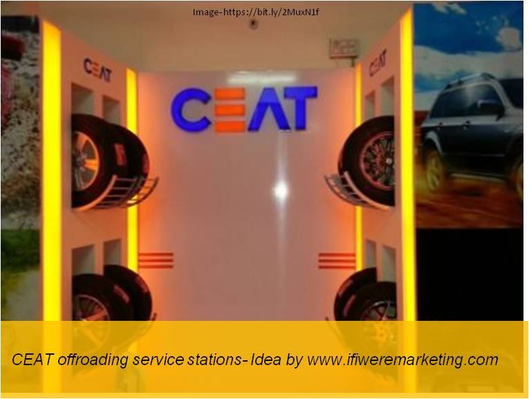 car tyres marketing- CEAT Offroading Service Stations-www.ifiweremarketing.com