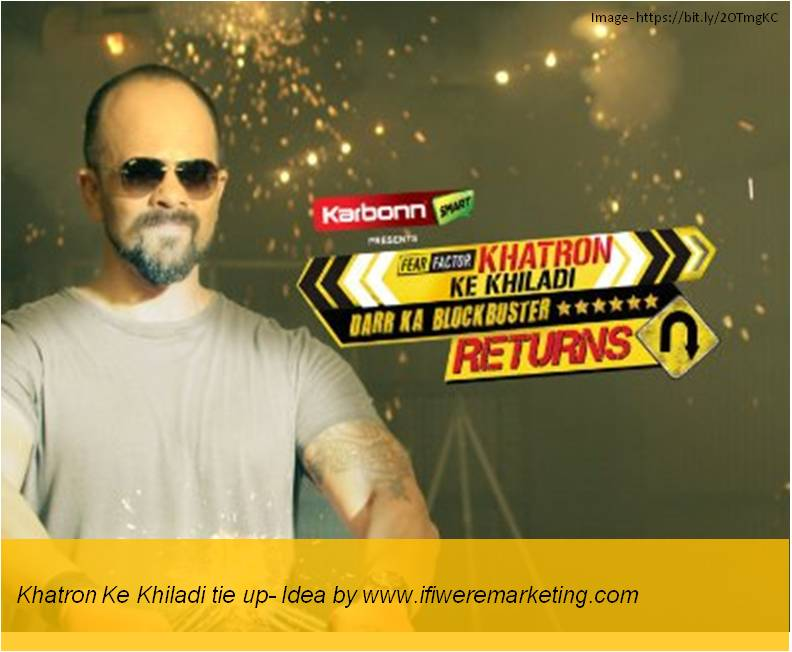 car tyres marketing-Tie-up with reality show Khatron Ke Khiladi-www.ifiweremarketing.com