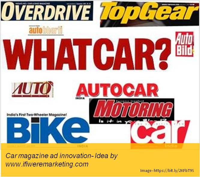 car tyres marketing-ceat-Autocar and other car magazine ad innovation-www.ifiweremarketing.com