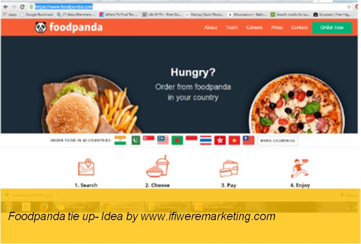mango drinks-frooti-Foodpanda Tie-up-www.ifiweremarketing.com