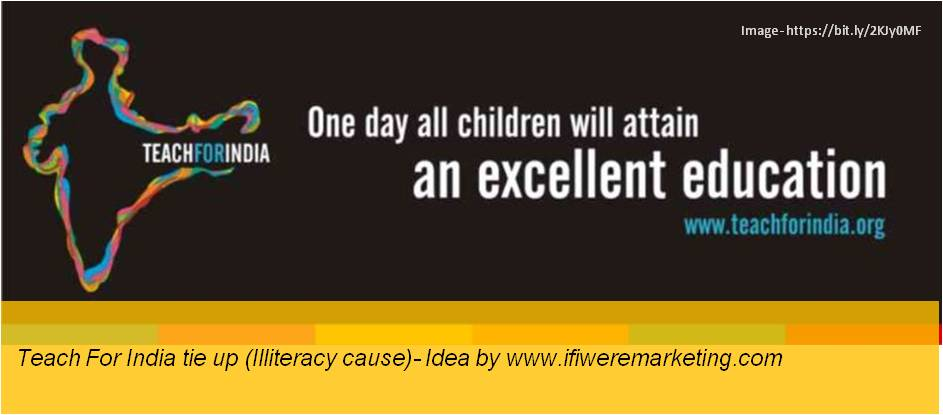 electrical equipment marketing- havells fans- teach for india tie up-illiteracy cause-www.ifiweremarketing.com