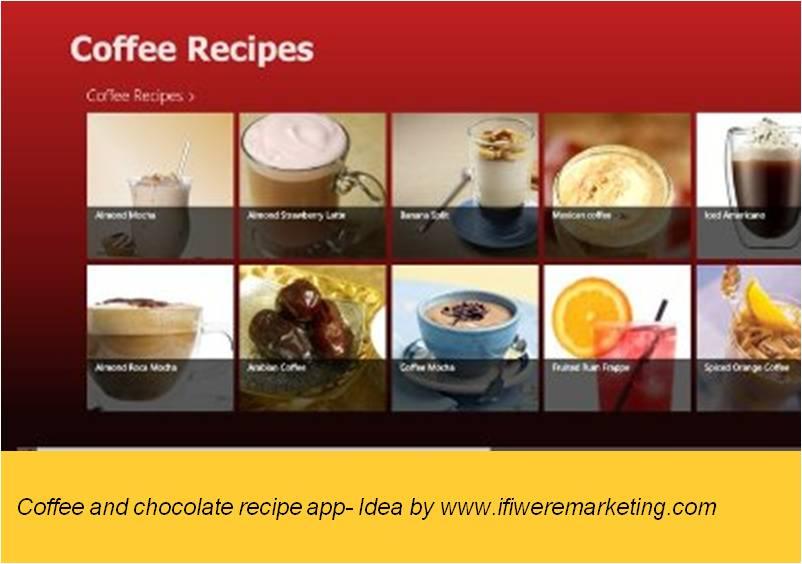 magnum ice cream- Home coffee and chocolate recipe app-www.ifiweremarketing.com