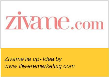 fashion marketing ideas for titan raga watches- tie up with zivame.com-www.ifiweremarketing.com