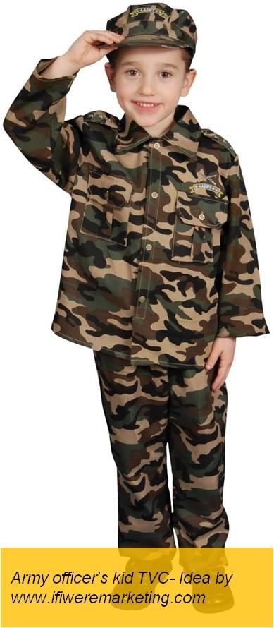insurance marketing hdfc army officer's kid tvc-www.ifiweremarketing.com