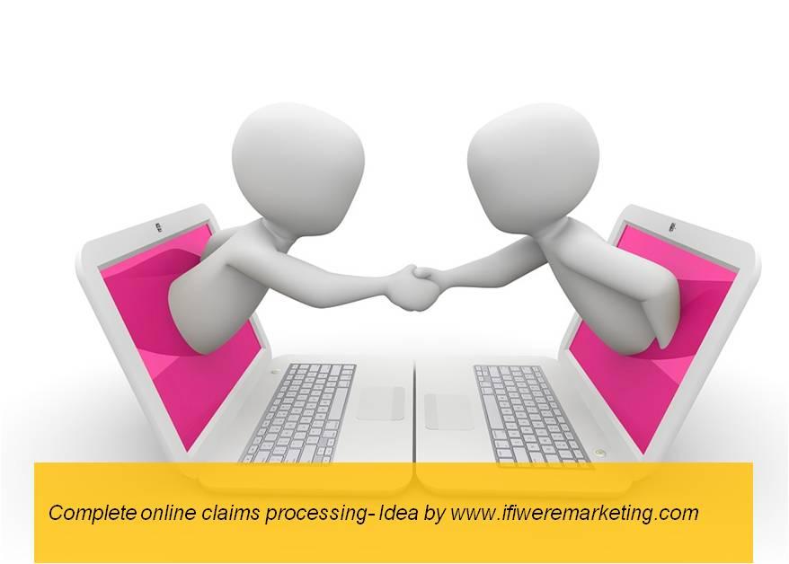 insurance marketing hdfc online claim processing-www.ifiweremarketing.com
