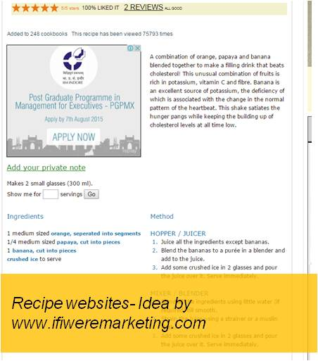 insurance marketing hdfc recipe websites-www.ifiweremarketing.com