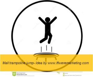 experiential marketing-mall trampoline jump-www.ifiweremarketing.com