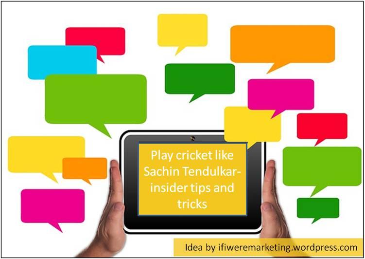 sachin tendulkar marketing- online cricket game-www.ifiweremarketing.com