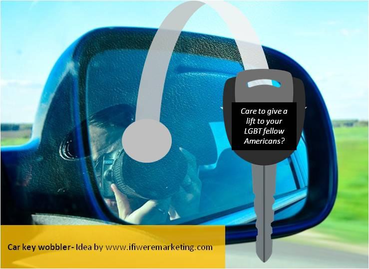 political marketing-hillary clinton-car key wobbler-www.ifiweremarketing.com