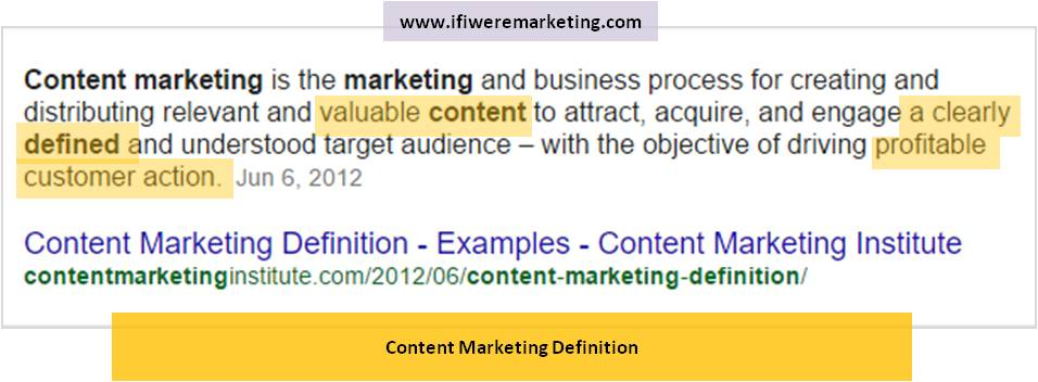 content marketing is like designer clothes- content marketing definition-www.ifiweremarketing.com