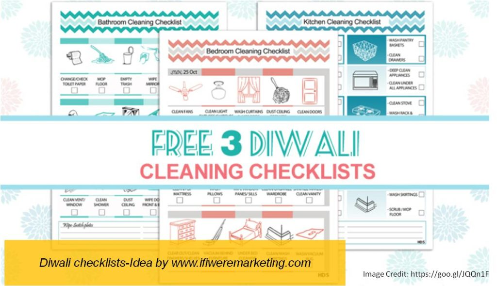 diwali checklists-diwali marketing ideas-www.ifiweremarketing