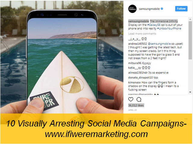 samsung-social media campaigns-www.ifiweremarketing.com