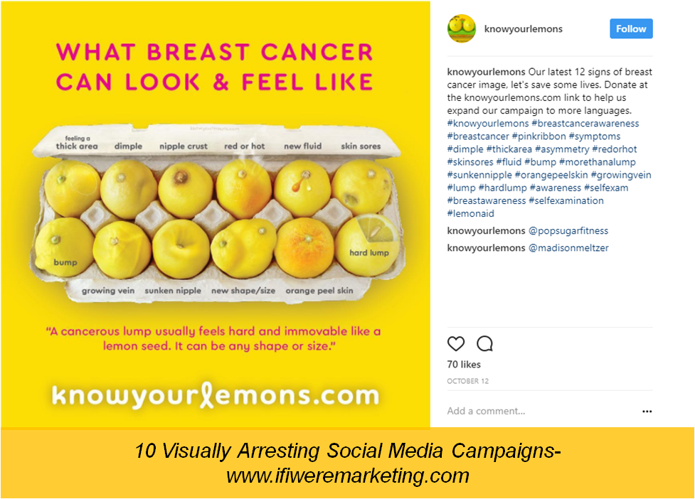 worldwide breast cancer-social media campaigns-www.ifiweremarketing.com