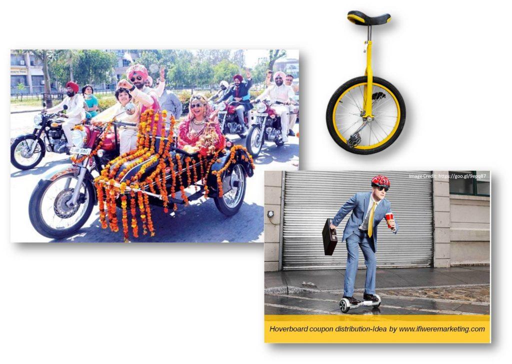 unusual coupon distribution-low cost marketing-brand awareness-www.ifiweremarketing.com